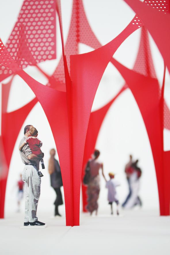 Phoenix Public Sculpture Design detail, 2016