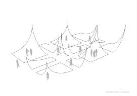 Nomadic Landscape Installation Diagram for ArtStreet in Sacramento, 2017