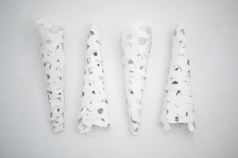 Houses for Grey, 2013 plaster fabric