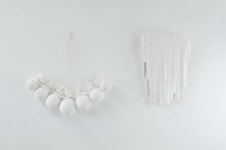 The Weight from Above and Below, 2013 plaster fabric