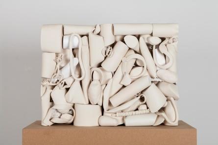 Recumbent Nude, 2017 ceramic