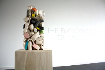Final Stack // The Employment of Object, 2013 ceramic