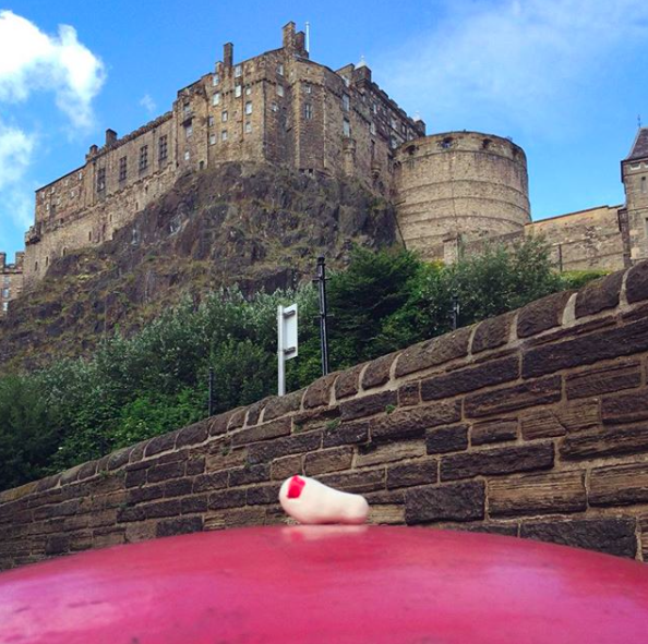 XOAK at Edinburgh Castle, Scotland
