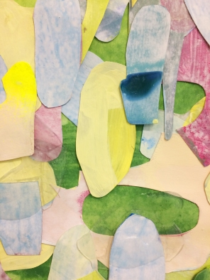 Infringing Spring detail / 2018 / Collage on Paper
